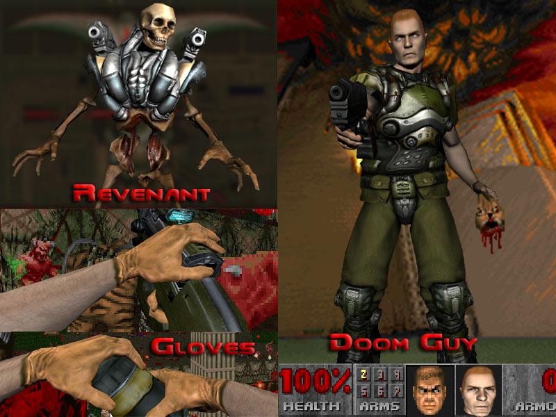 Doom 3 Monsters